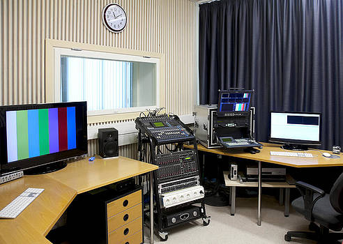 Tv Studio For Students by Jaak Nilson