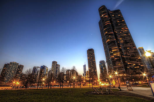 Twilight in Chicago by Brad Granger