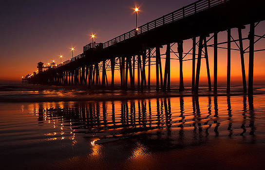 Twilight Night Lights by Donna Pagakis