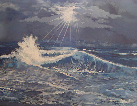 Twilight Ocean by Ron Thompson