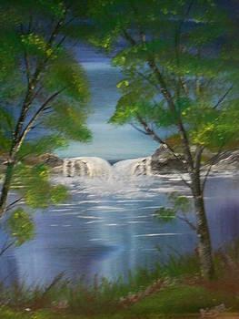Twin Falls by Mary DeLawder