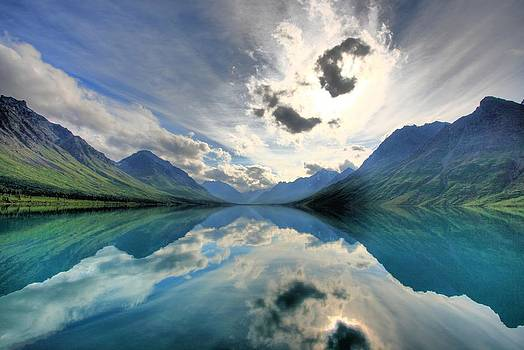 Twin Lakes Reflection by Wyatt Rivard