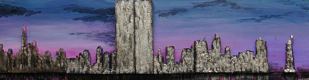 Robert Handler - Twin Towers at Sunset