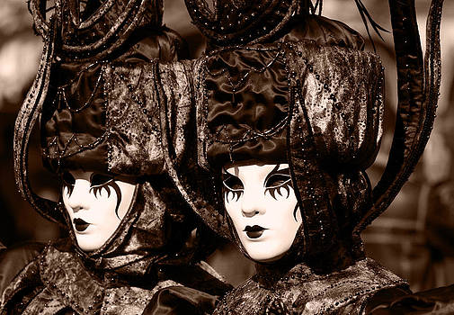 Twins in sepia by Simona  Mereu