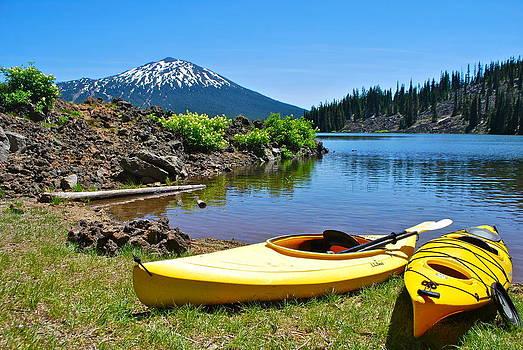 Two Kayaks by Dorota Nowak