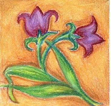 Two Little Flowers by Judith Correa