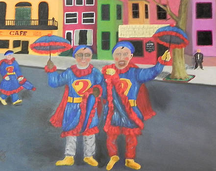 Two Super 2 Stompers by Ernie Goldberg