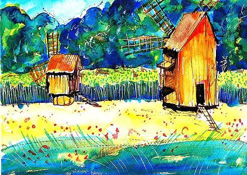 Ion vincent DAnu - Two Windmills