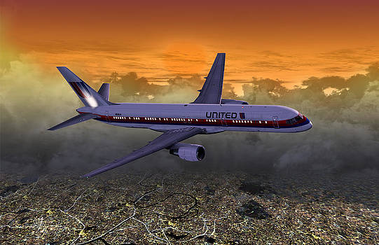 Ual 757 02 by Mike Ray