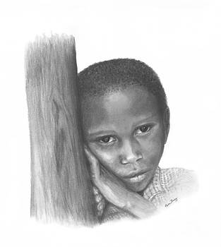 Ugandan Child by Pam Fries