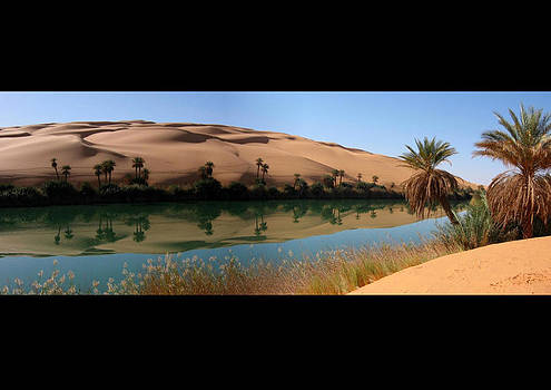 Umm-al-maa, Oasis, Libyan Sahara by Joe & Clair Carnegie / Libyan Soup