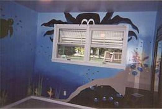 Anna Villarreal Garbis - Under the Sea Mural III