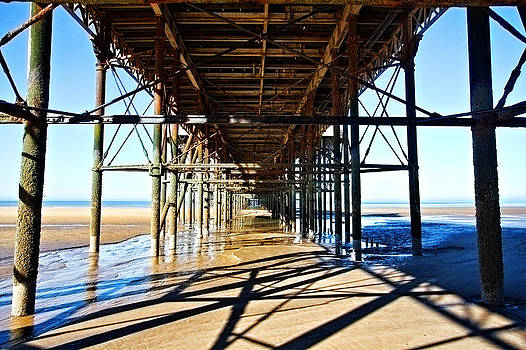 Underneath the Pier by Sandra Pledger