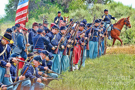 Union Troops by Alan Crosthwaite