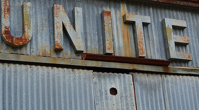Nikki Marie Smith - UNITE Weathered Sign