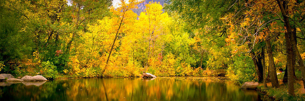 USA-0002-Fall Colors in Boulder by Les Abeyta