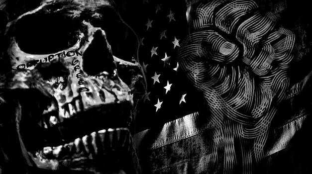 USA's cancer  by Edgar  Mena