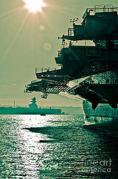 USS Midway by Athena Lin