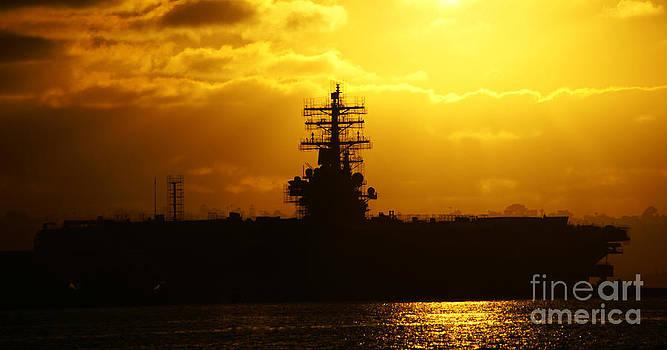 Linda Knorr Shafer - USS Ronald Reagan