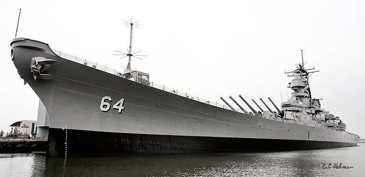 Christopher Holmes - USS Wisconsin - Port-Side