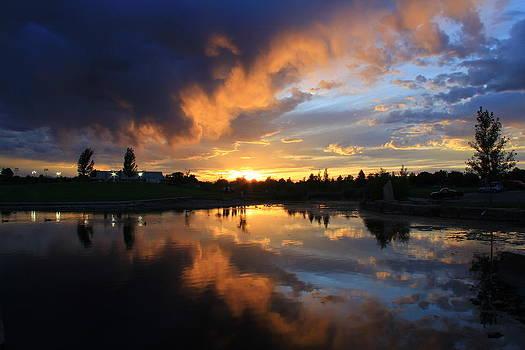 Utah Park Sunset by Mike Kim