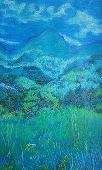 Valley of  bliss by Manjula Prabhakaran Dubey