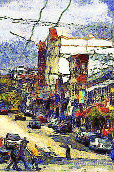 Wingsdomain Art and Photography - Van Gogh Takes The Right Turn And Rediscovers The Castro In San Francisco . 7D7572