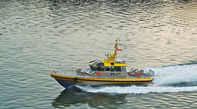 Michael Peychich - Vancouver Harbour Pilot