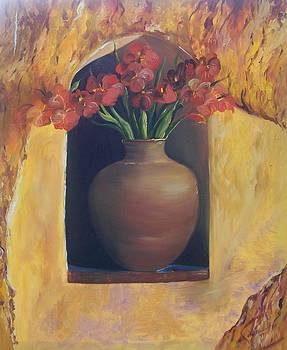 Vase of Pottery by Barbara Ruzzene