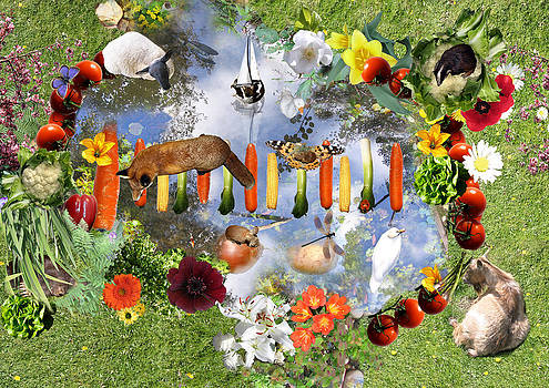 Veg paradise by Emily Campbell