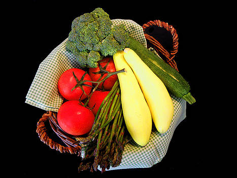 Vegetable Garden by Sandi OReilly