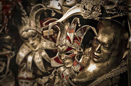 Venetian Masks by Jen Morrison