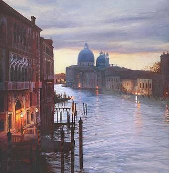 Venetian Violet by Helen Parsley