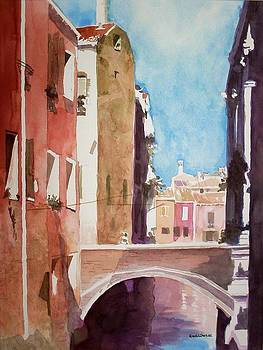 Venice Canal by Richard Willows