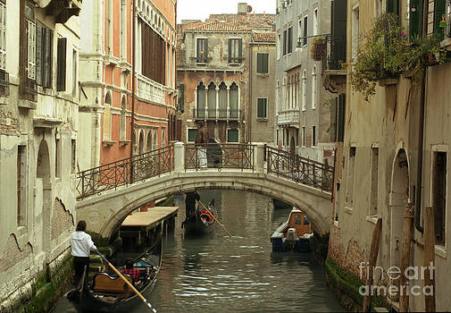 Venice Canel Scene by Lawrence Costales