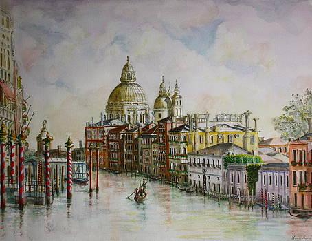 Yvonne Ayoub - Venice Grand Canal