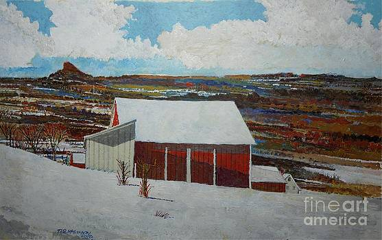 Vermont Afternoon by Donald McGibbon