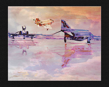 VF- 41  F-4s  1967 by John Breen