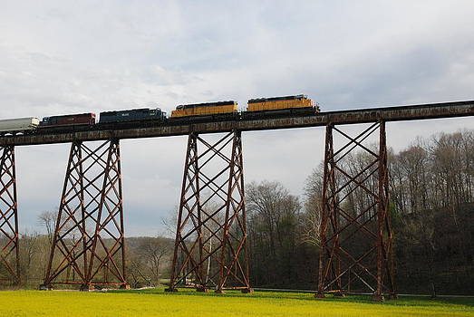 Viaduct Series-Spring by Cheryl Helms