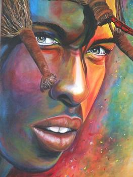 Vibrant Warrior by Karen Longden-Sarron
