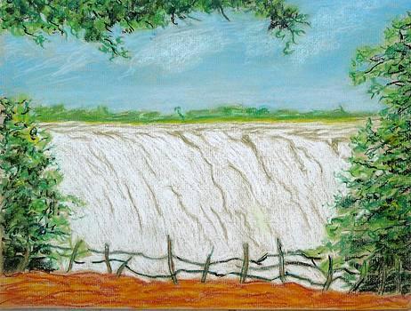 Victoria Falls by Rashid Hamza