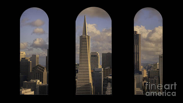 View from Coit Tower by John Pattenden
