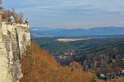 Christine Till - View from Koenigstein Fortress Germany