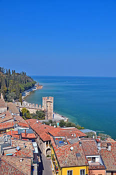 Martina Fagan - View from Sirmione Castle