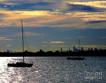 Dale   Ford - View of Manhattan From City Island Bronx NY