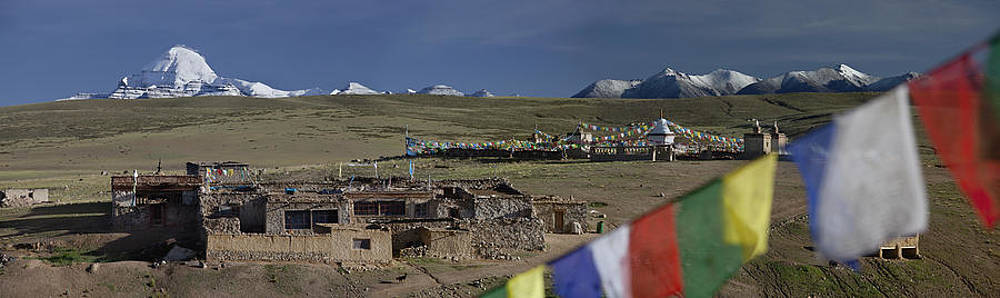 View Of Mount Kailash From Chiu by Phil Borges