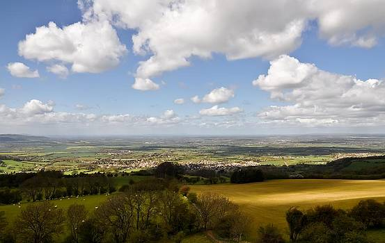 View of the Cotswolds by Simon Clare