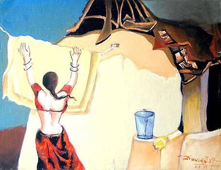 Village Life by Sanjay Lahori
