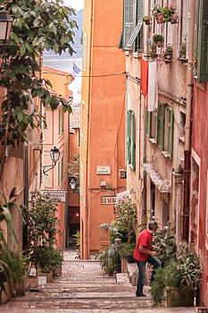 Villefranche morning by Shari Whittaker