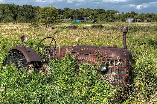 Matt Dobson - Vintage - Massey Harris Tractor